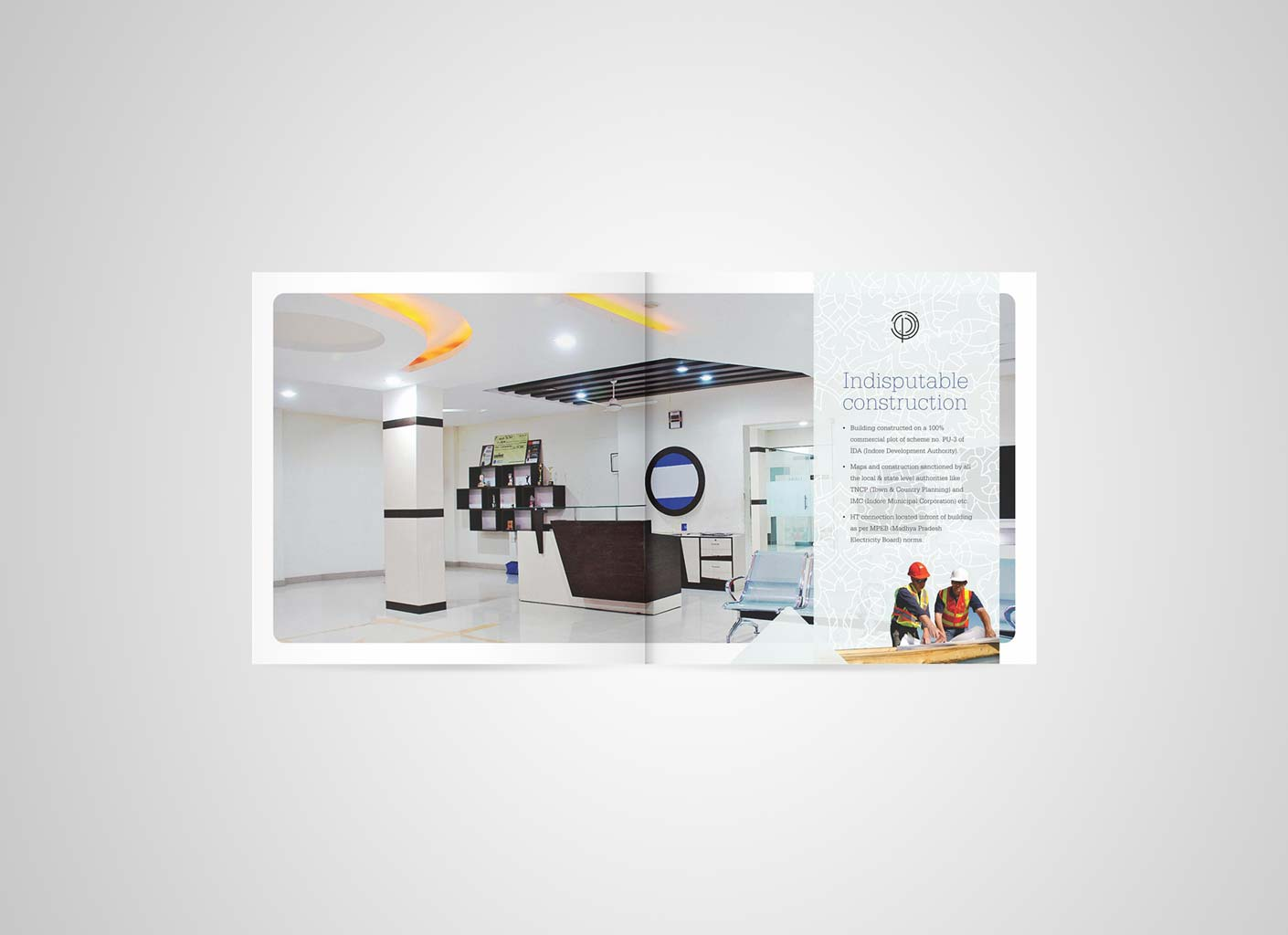 Mangal Buildcon Brochure- inside page 6 and 7